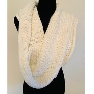 Collection Eighteen Cream colored Infinity Scarf